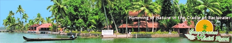 Welcome to Green Palace Kerala - The Alappuzha Backwater Island Resort